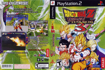 Dragon Ball Z Budokai Tenkaichi 3 Ps2 The Cover Project