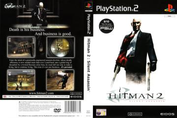 Hitman 2 Silent Assassin Ps2 The Cover Project