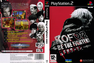 King Of Fighters 2002 Ps2 The Cover Project