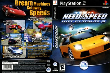 Need For Speed Hot Pursuit 2 Ps2 The Cover Project