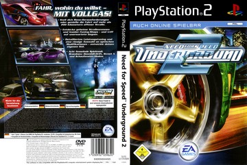 Need For Speed Underground 2 Ps2 The Cover Project