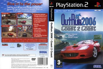 OutRun 2006: Coast 2 Coast (PS2) - The Cover Project
