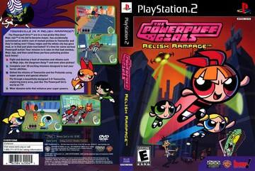 Powerpuff Girls Relish Rampage The Ps2 The Cover Project