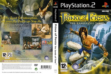 Prince Of Persia The Sands Of Time Ps2 The Cover Project