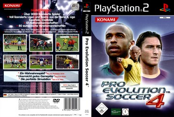 Pro Evolution Soccer 4 (PS2) - The Cover Project