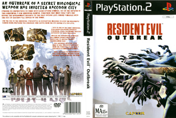Resident Evil Outbreak Ps2 The Cover Project