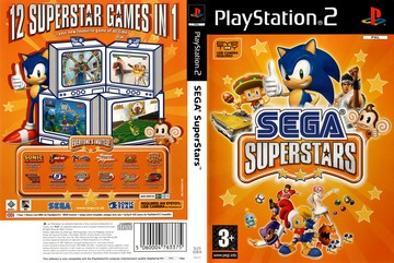 SEGA SuperStars (PS2) - The Cover Project