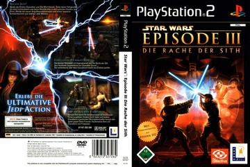 Star Wars Episode Iii Revenge Of The Sith Ps2 The Cover Project
