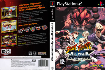 Street Fighter Alpha Anthology Ps2 The Cover Project