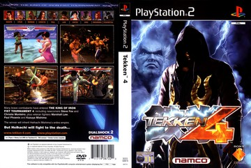 Tekken 4 (PS2) - The Cover Project