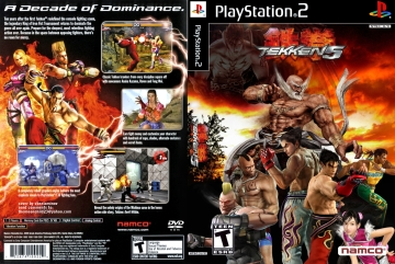 Tekken 5 Ps2 The Cover Project