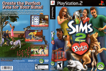 Sims 2 Pets The Ps2 The Cover Project