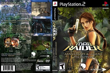 Lara Croft Tomb Raider Anniversary Legend Collection Ps2