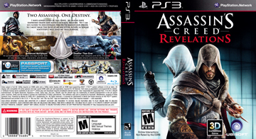 Assassin S Creed Revelations Ps3 The Cover Project
