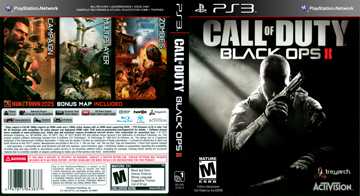 Call Of Duty Black Ops Ii Ps3 The Cover Project