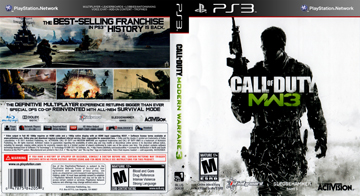 Call Of Duty Modern Warfare 3 Ps3 The Cover Project