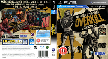 House Of The Dead Overkill Extended Cut Ps3 The Cover Project