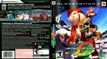King Of Fighters Xii The Ps3 The Cover Project