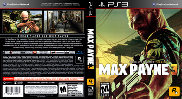 Max Payne 3 Ps3 The Cover Project