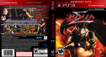 Ninja Gaiden Sigma Ps3 The Cover Project