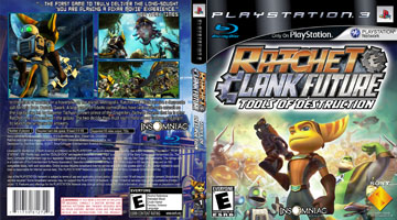 Ratchet And Clank Future Tools Of Destruction Ps3 The Cover
