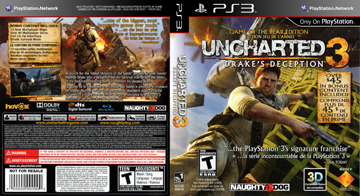 Uncharted 3 Drake S Deception Ps3 The Cover Project