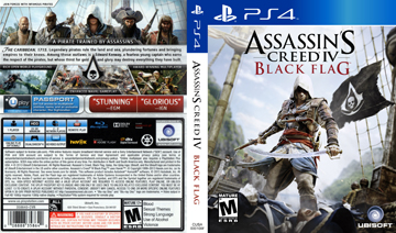 Assassin S Creed Iv Black Flag Ps4 The Cover Project