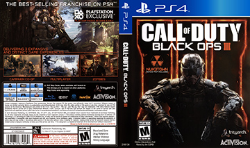 Call Of Duty Black Ops Iii Ps4 The Cover Project