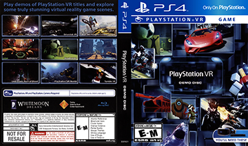 PlayStation VR Demo Disc (PS4) - The Cover Project
