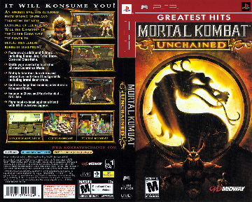 Mortal Kombat: Unchained (PSP) - The Cover Project