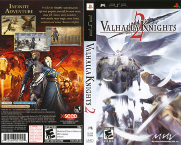 Valhalla Knights 2 Psp The Cover Project