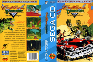 Cadillacs And Dinosaurs The Second Cataclysm Sega Cd The Cover Project Dinosaur hunter (chinese bootleg of cadillacs and dinosaurs). second cataclysm sega cd
