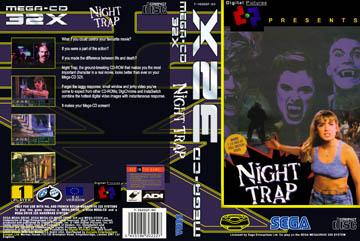Night Trap (Sega CD) - The Cover Project