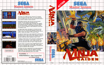 Ninja Gaiden Sms The Cover Project