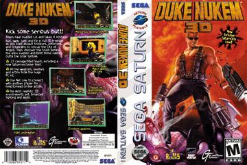 Duke Nukem 3D Game Poster 4 Sizes PC N64 Playstation Xbox Sega Saturn Genesis