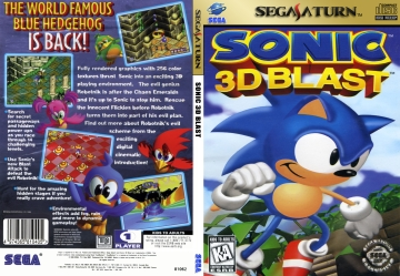 Sonic 3D Blast (Saturn) - The Cover Project