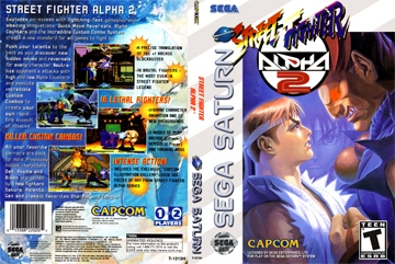 Street Fighter Alpha 2 Saturn The Cover Project
