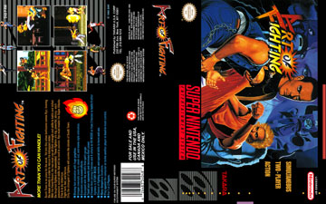Art Of Fighting Snes The Cover Project