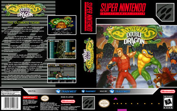 Battletoads Double Dragon The Ultimate Team Snes The Cover Project