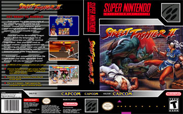Street Fighter 2 Snes The Cover Project