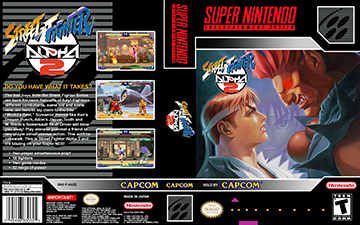 Street Fighter Alpha 2 Snes The Cover Project