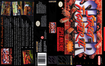 Super Street Fighter 2 Snes The Cover Project