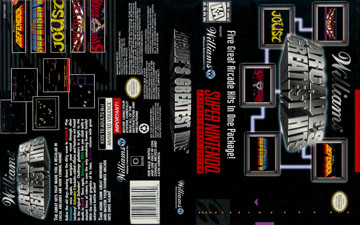 Williams Arcade's Greatest Hits (SNES) - The Cover Project