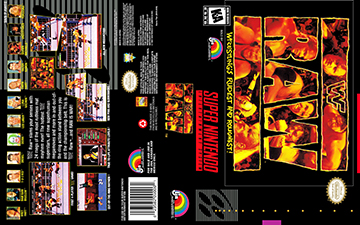 Wwf Raw Snes The Cover Project
