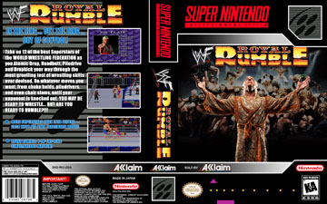 Wwf Royal Rumble Snes The Cover Project
