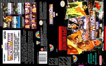 Wwf Super Wrestlemania Snes The Cover Project