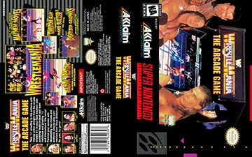 Wwf Wrestlemania The Arcade Snes The Cover Project