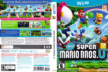 New Super Mario Bros  U (Wii U) - The Cover Project