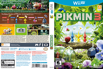Pikmin 3 Wii U The Cover Project