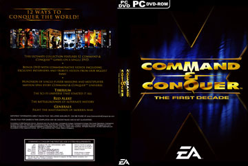 Command & Conquer: The First Decade (Win) - The Cover Project